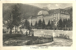 "4320 ""S. PELLEGRINO-GRAND HOTEL""ANIMATA-CART. POST. ORIG..SPEDITA 1940 - Altre Città"