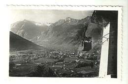 """4321 """"LUOGO DI CURA MERANO CON FILOVIA PER AVELENGO"""" CART. POST. ORIG..SPEDITA 1954 - Merano"""