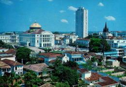 BRASIL, AMAZONAS, MANAUS, VISTA PARCIAL - TEATRO AMAZONAS  [49997] - Manaus