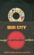 SUN CITY -ARTISTS UNITED AGAINST APARTHEID -DISCO VINILE 45 GIRI 1985 - Blues