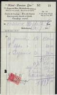 MIDDELKERKE * HOTEL-PENSION GEO * DIGUE DE MER * ZEEDIJK * PRES DU CASINO * 1936 - Belgique