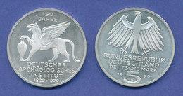 Bundesrepublik 5DM Silber-Gedenkmünze 1979, Archäologisches Institut - 5 Marchi