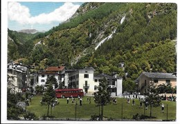 Branzi (Bergamo). Colonia Lecchese. Corriera. - Bergamo