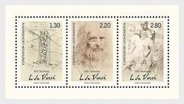 Liechtenstein 2019 - 500th Anniv. Of The Death Of Leonardo Da Vinci M/s - Neufs