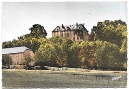 46 Les Quatre Routes Du Lot Château De Langlade Colonie De Vacances A.P.A.S (2 Scans) - Francia