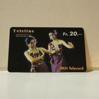 Phonecard - Switzerland - Teleline - 20 Francs - Suiza
