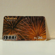 Phonecard - Switzerland - Teleline - 20 Francs - Suisse