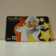 Phonecard - Switzerland - Teleline - 10 Francs - Suiza