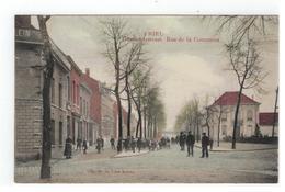 6  NIEL  Gemeentestraat . Rue De La Commune  Uitg. Fr. De Vries-Boeckx  Phototypie M.MARCOVICI - Niel