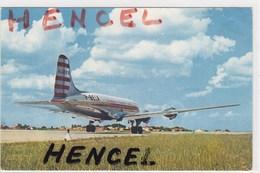 Quadrimoteur DOUGLAS DC4. Cie AIR ALGERIE - 1946-....: Era Moderna