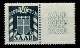 SAAR DIENST Nr 34Lr Postfrisch X71DF76 - 1947-56 Allierte Besetzung
