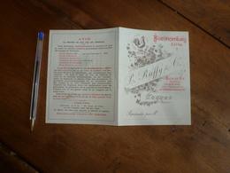 Vers  1900 :Bonificateurs Extra LE RUFFY & Cie - Eaux-de-Vie Rectifiée Par Procécé Spécial Pour Amélioration Des Cognacs - France