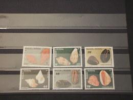 WALLIS FUTUNA - 1987 CONCHIGLIE 6 VALORI - NUOVI(++) - Wallis E Futuna