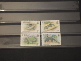 KIRIBATI - 1986 FAUNA 4 VALORI - NUOVI(++) - Kiribati (1979-...)