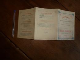 1900 :Colorants Spéciaux Pour Distillateurs, Liquoristes, Fabricants De Confiserie -GLACIERS -LIMONADIERS Etc - à Genève - France
