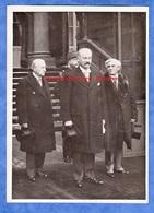 Photo Ancienne - PARIS - Visite D' Albert LEBRUN Président De La République Aux Présidents Des Chambres - Vers 1935 - Places