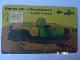 "PF5 ? 60U 05/91 ""Les Oranges à Tahiti"" (P. Gauguin) - French Polynesia"