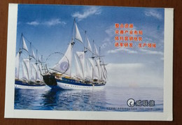 Sailing Yacht,sailing Ship,CN08 Germany Waldemarlink Department Of Orthopedics Instruments Adv Pre-stamped Letter Card - Pharmacy
