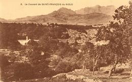 CORSE - CALACUCCIA, Sur La Route D'ALBERTACCE : LE COUVENT SAINT-FRANCOIS Du NIOLO - Andere Gemeenten