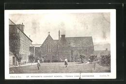 Pc Sherborne, St. Anthonys Convent Schoo, Tennis Lawn - England