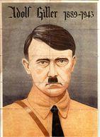 GERMAN EMPIRE-SPAIN-MILITARY PROPAGANDA CIVIL WAR,RATION COUPONS Adolf HITLER.1945.WWII.RATIONIERUNGS-GUTSCHEINE - 1939-45
