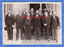 Photo Ancienne - PARIS - Réception De Meilleurs Ouvriers De France Par Edouard DALADIER - Ouvrier Métier Médaille - War, Military