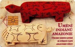 REPUBLICA CHECA. Amazon Indian's Art. C207A, 46/10.97. (027) - República Checa