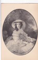 D'APRES WINTERHALTER, L'IMPERATRICE EUGENIE. CHATEAU DE MALMAISON. EDITION DES MUSEES NATIONAUX. CPA 1910'S - BLEUP - Peintures & Tableaux