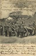 China, TSINGTAU QINGDAO KIAUTSCHOU 膠州, Chinese Artillery Militar 1904 Postcard - China