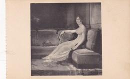 GERARD, L'IMPERATRICE JOSEPHINE A MALMAISON. CHATEAU DE MALMAISON. EDITION DES MUSEES NATIONAUX. CPA 1910'S - BLEUP - Peintures & Tableaux