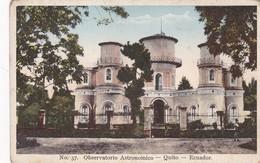OBSERVATORIO ASTRONOMICO. QUITO, ECUADOR. LIBRERIA GUTENBERG DE UZATEGUI. CPA 1920'S - BLEUP - Equateur