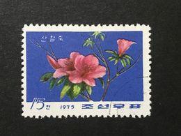 ◆◆◆ KOREA DDR  1975    Flowers   15CH  USED    AA3609 - Corea Del Norte