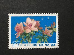 ◆◆◆ KOREA DDR  1975    Flowers   25CH  USED    AA3610 - Corea Del Norte