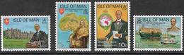Isle Of Man SG67-70 1975 Sir George Goldie Set 4v Complete Unmounted Mint [40/32406/25D] - Isle Of Man