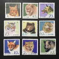 ◆◆◆ KOREA DDR  1974   Pyongyang Zoo, 15th Anniv.  Complete  USED    AA3615 - Corea Del Norte