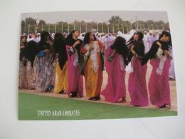 Postcard Postal United Arab Emirates - Emirati Arabi Uniti