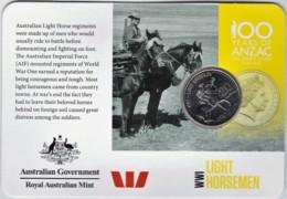 Australia 2015 ANZAC 100 Years - WW1 Light Horsemen Uncirculated 20c - Monnaie Décimale (1966-...)