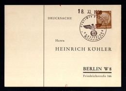 12906-GERMAN EMPIRE-.MILITARY PROPAGANDA POSTCARD Merkelsdorf.1938.WWII.DEUTSCHES REICH.Postkarte.Carte Postal - Covers & Documents