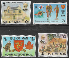 Isle Of Man SG139-142 1978 Anniversaries And Events Set 4v Complete Unmounted Mint [40/32410/25D] - Isle Of Man