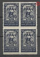 Kingdom Yugoslavia SHS Slovenia 1920 , 50p Error MNH** - 1919-1929 Royaume Des Serbes, Croates & Slovènes