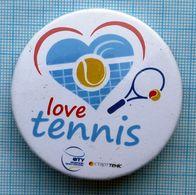 UKRAINE / Badge / Tennis Federation Love. 2000s - Tennis