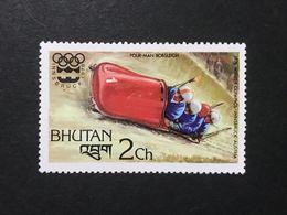◆◆◆BHUTAN  1976   Slalom And Olympic Games  Emblem   2CH  NEW   AA3627 - Bhután