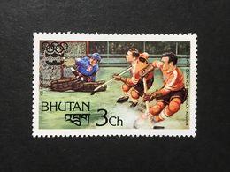 ◆◆◆BHUTAN  1976   Slalom And Olympic Games  Emblem   3CH  NEW   AA3628 - Bhután