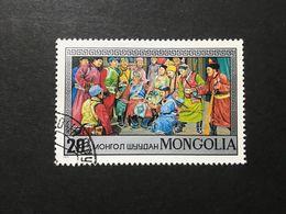◆◆◆Mongolia  1974    Mongolian Operas And Dramas.     20M   USED   AA3637 - Mongolia