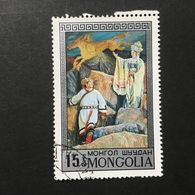 ◆◆◆Mongolia  1974    Mongolian Operas And Dramas.      15M   USED   AA3639 - Mongolia