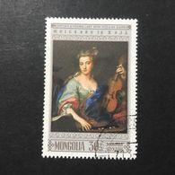 ◆◆◆Mongolia  1968   UNESCO, 22nd Anniv.       30M   USED   AA3648 - Mongolia