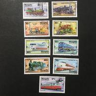 ◆◆◆Mongolia  1979   Intl. Transportation Exhibition, Hamburg.   Complete   USED   AA3649 - Mongolia