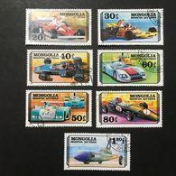 ◆◆◆Mongolia  1978    Experimental Racing Cars    Complete   USED   AA3650 - Mongolia