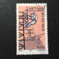 ◆◆◆ Vietnam  1969    12XU   USED   AA3655 - Vietnam