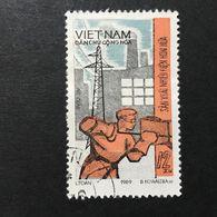 ◆◆◆ Vietnam  1969    12XU   USED   AA3656 - Vietnam
